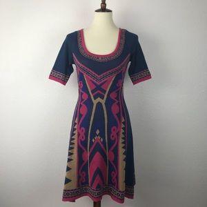 Flying Tomato Print Knit Dress D228
